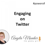 Hangout With Geeky Girl – Engaging on Twitter