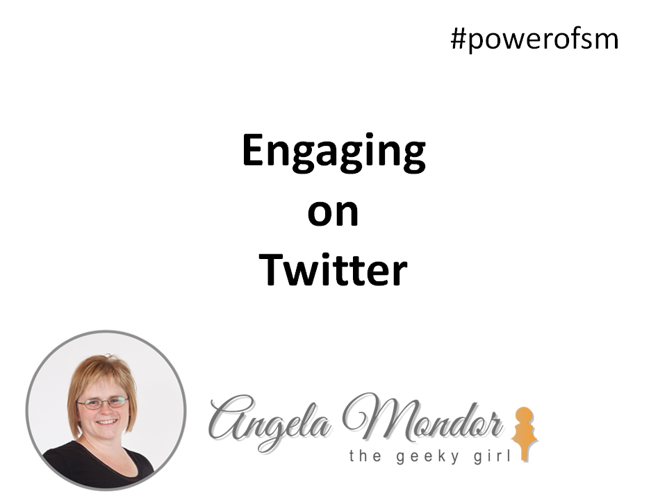 Engaging on Twitter