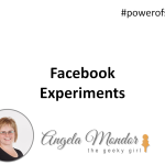 Hangout With Geeky Girl – Facebook Experiments