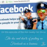 The Dos and Dont's of Posting on Facebook as a Business