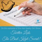 Twitter Lists – The Best Kept Secret!